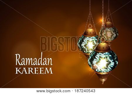 Ramadan Kareem beautiful greeting card Ramadan kareem islamic background, Eid Mubarak .