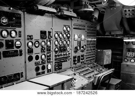 Control units instruments indicators displays signal military stuff