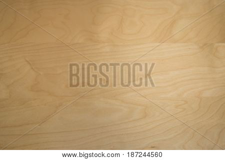 Top view of wood particle board background.