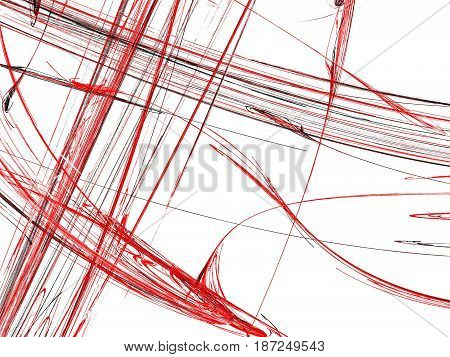 Abstract Grunge Dirty Red Pattern