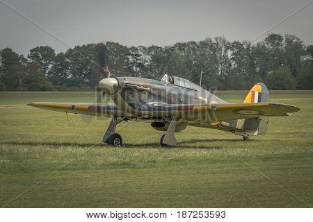 Vintage Fighter Plane