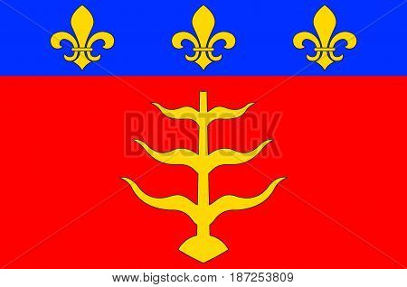 Flag of Montauban is a commune in the Tarn-et-Garonne department in the Occitanie region in southern France.