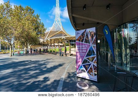 Arts Centre Melbourne Advertisement In Arts Precinct