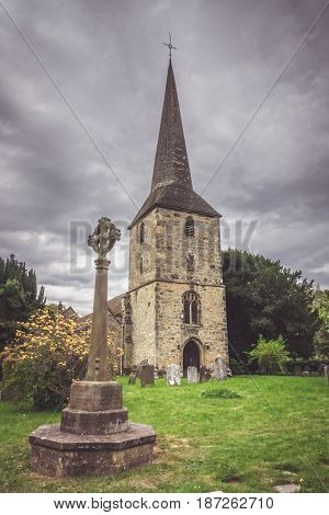 St Peters church in Hever, containing the tomb of Sir Thomas Bullen, father of Anne Boleyn and grandfather of Queen Elizabeth the First.