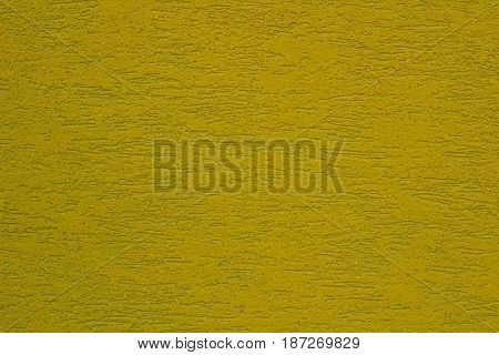 Bright  green mustard colored textured stucco background