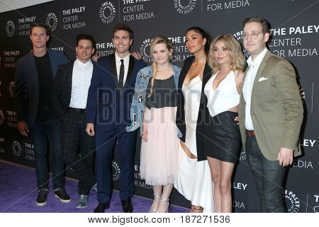 LOS ANGELES - MAY 18:  Cast at the