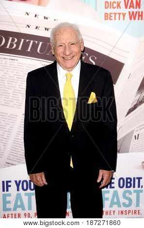 LOS ANGELES - MAY 17:  Mel Brooks at the