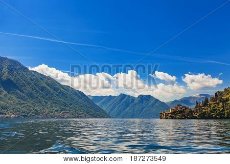 Como Lake ( Lago Di Como), Italy