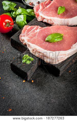 Pork Steaks, Fillet