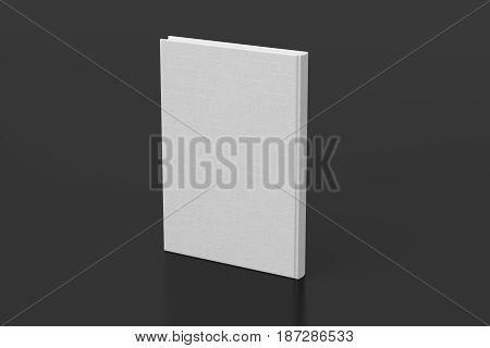 Blank Book Cover Mockup
