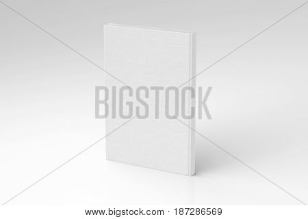 Blank Book Cover Mockup