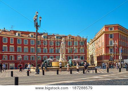 Central Square In Nice