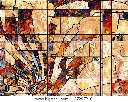 Virtual Leaded Glass