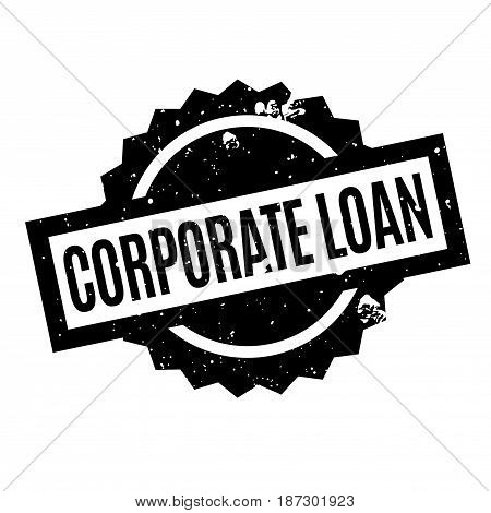 Corporate Loan rubber stamp. Grunge design with dust scratches. Effects can be easily removed for a clean, crisp look. Color is easily changed.