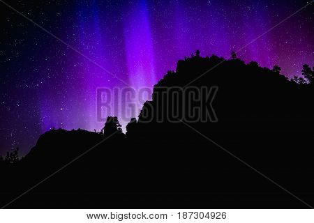 Northern Lights In America