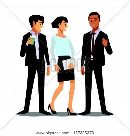 businessmen consulting business job working marketing professional