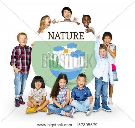 Environment Responsible Green Global Living Ecology