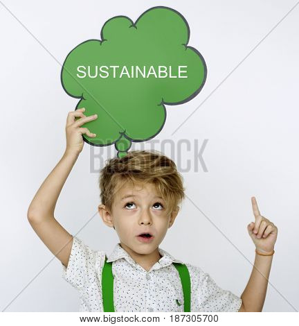 Sustainable Environment Responsibility Recycle Word