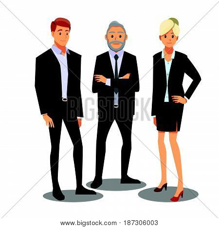 businessmen consulting people friends male man working