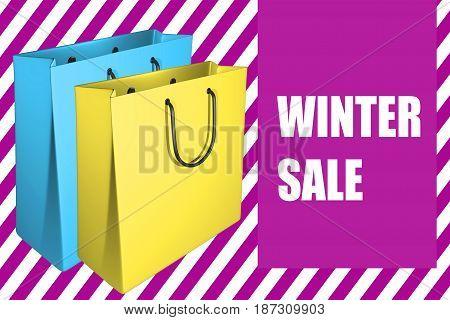 Winter Sale - Business Concept
