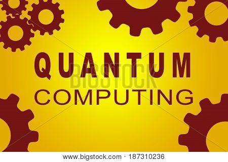 Quantum Computing Concept