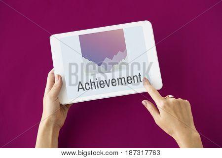 Achievement Word Peak Summit Graphic