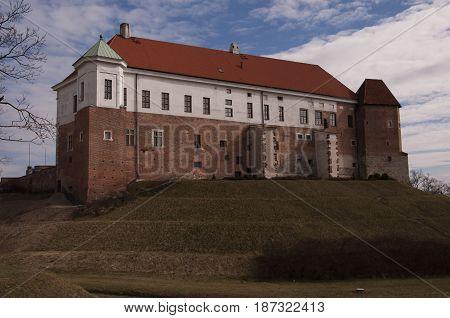Sandomierz Royal Castle. The West Wing Of The Castle.