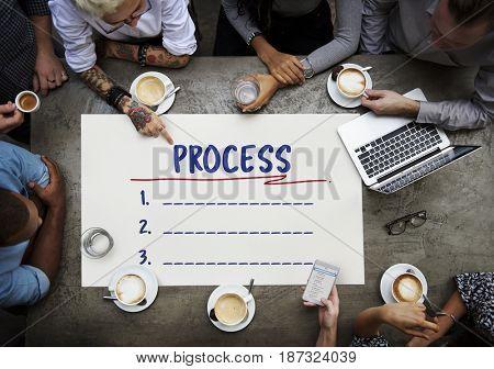Analysis Progress Management Organization Flow Chart