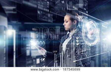 Innovative media technologies in use . Mixed media