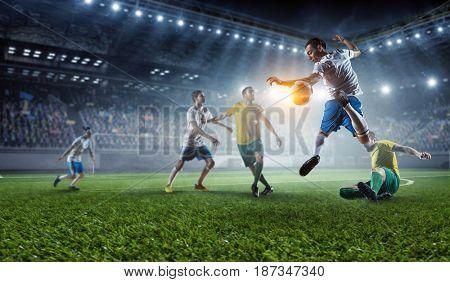 Football hottest moments . Mixed media
