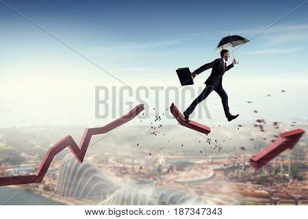 Not afraid to risk. Mixed media . Mixed media