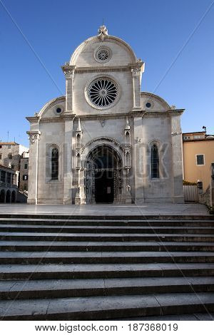 The Cathedral of St. James (Sv. Jakov) in Sibenik has been on the UNESCO World Heritage List.