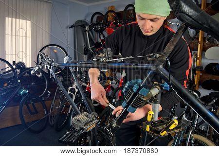 Master Bike Repairs In The Workshop 3
