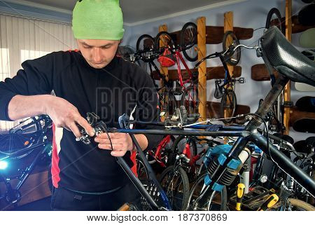 Master Bike Repairs In The Workshop 19