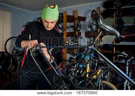 Master Bike Repairs In The Workshop 6