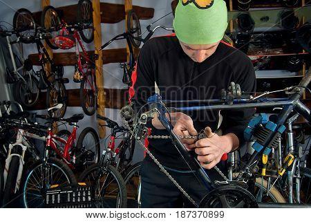 Master Bike Repairs In The Workshop 7