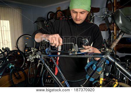 Master Bike Repairs In The Workshop 21