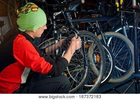 Master Bike Repairs In The Workshop 11