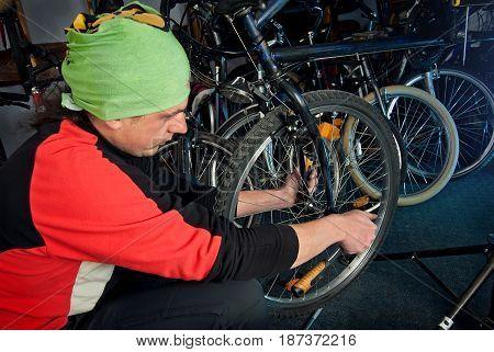 Master Bike Repairs In The Workshop 22