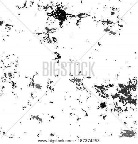 White Grunge Scratched Dirty Dusty Old Weather-beaten Background