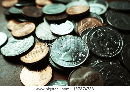 Currency Close Up High Quality Stock Photo