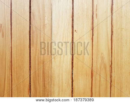 vertical old grungy brown wood plank with reflection