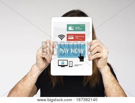 Contactless Payment Online Banking Innovation Technology Graphic