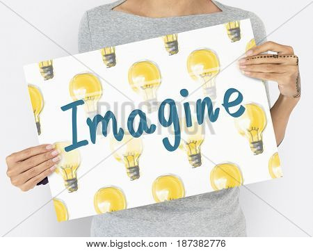 Imagine Light Bulb Ideas Icon