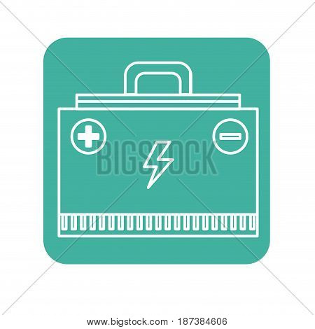 label energy logger to meter electricity in the planet, vector illustration