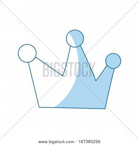 cartoon crown royalty fairy tale image vector illustration