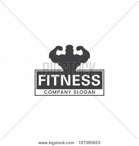 Fitness logo for any gym or fitness company.