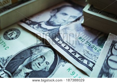 Money Close Up High Quality Stock Photo