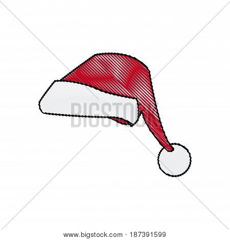 christmas hat clothing accessory decoration vector illustration