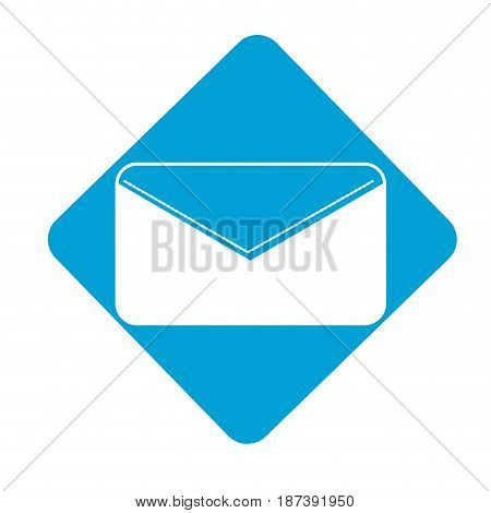 label nice letter close with important message, vector illustration